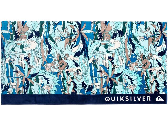 Quiksilver Freshness Asciugamano blu/turchese